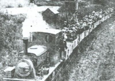 A tea-treat trip from St Austell to Pentewan before First World War