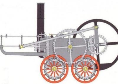 Penydarren Iron Works steam engine of 1804