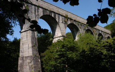 The Treffry Viaduct