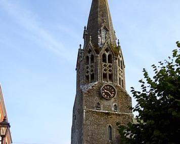 The Church of St Bartholomew, Lostwithiel.
