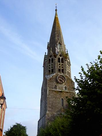 The Church of St Bartholomew, Lostwithiel.