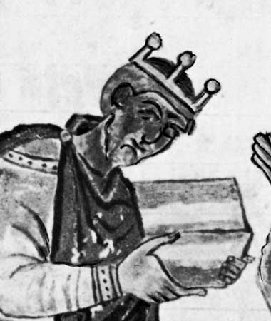 Athelstan, the first Saxon King