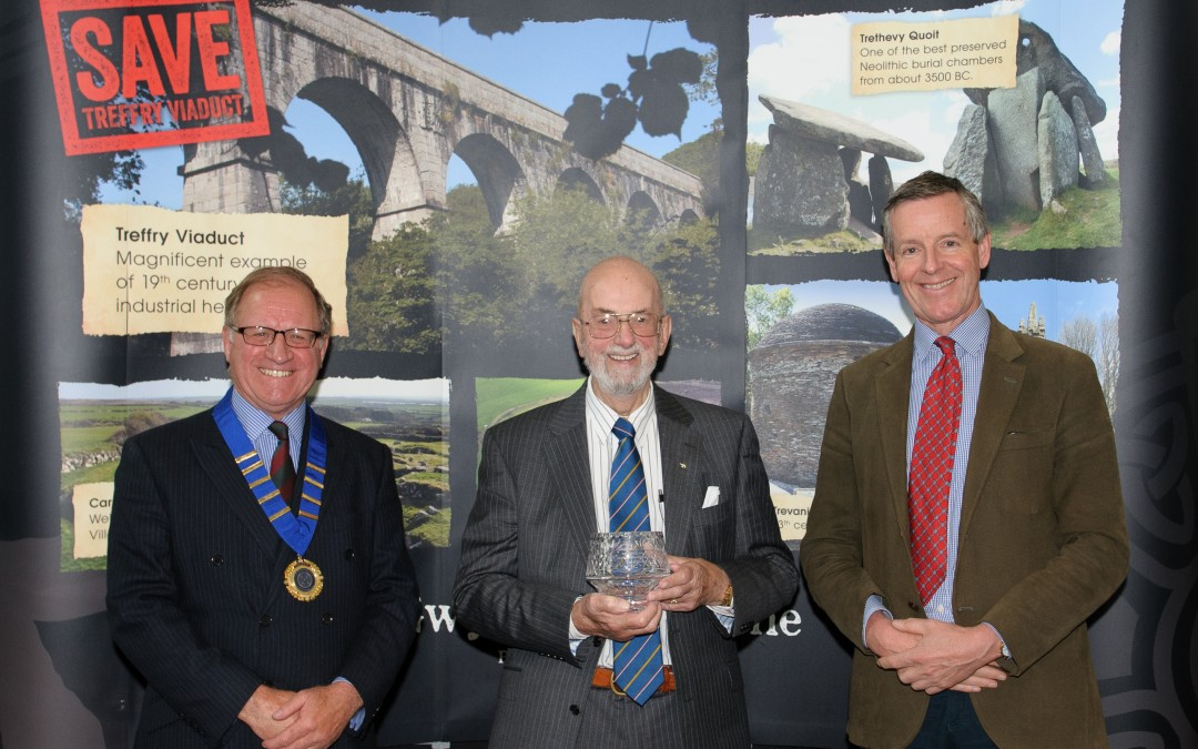 Sir Richard Trant Memorial Award – Heritage Champion 2016 – Nominations now open!