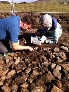The Hurlers excavation
