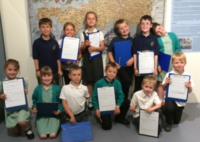 A date with Roman history for St Neot School