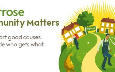 "CHT chosen to be a Waitrose ""Community Matters Pillar"" for March!"