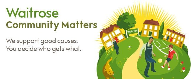 "CHT chosen to be a Waitrose ""Community Matters Pillar"" for March!"