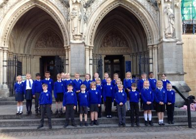 St Marys C of E School visit Truro Cathedral