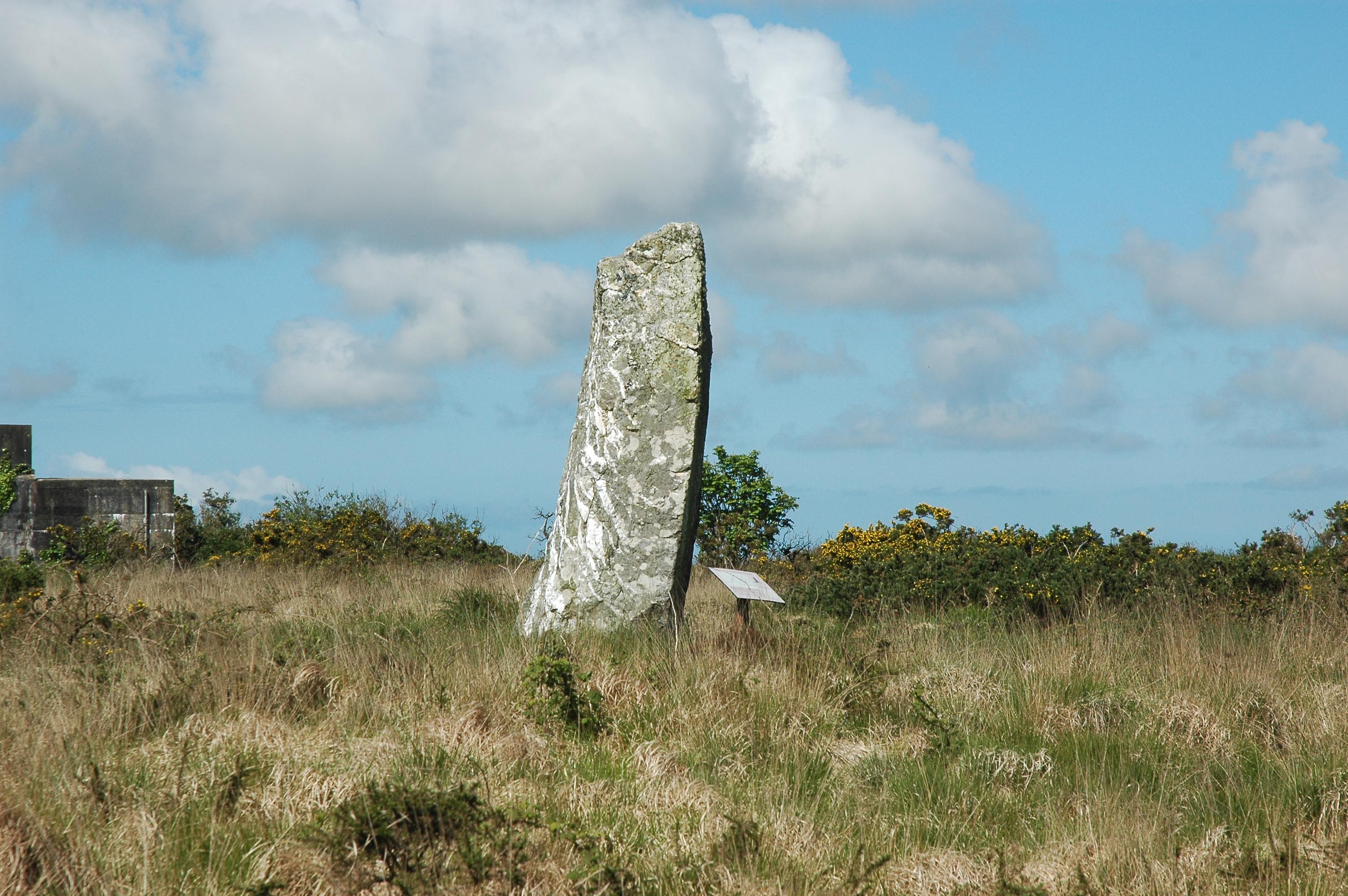 St Breock Downs Monolith