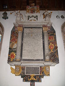 Grenville's tomb
