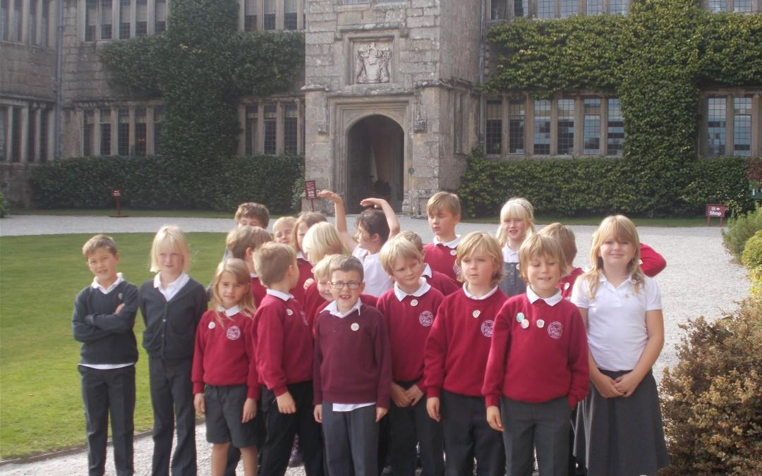 Polperro School head back to Victorian times at Lanhydrock