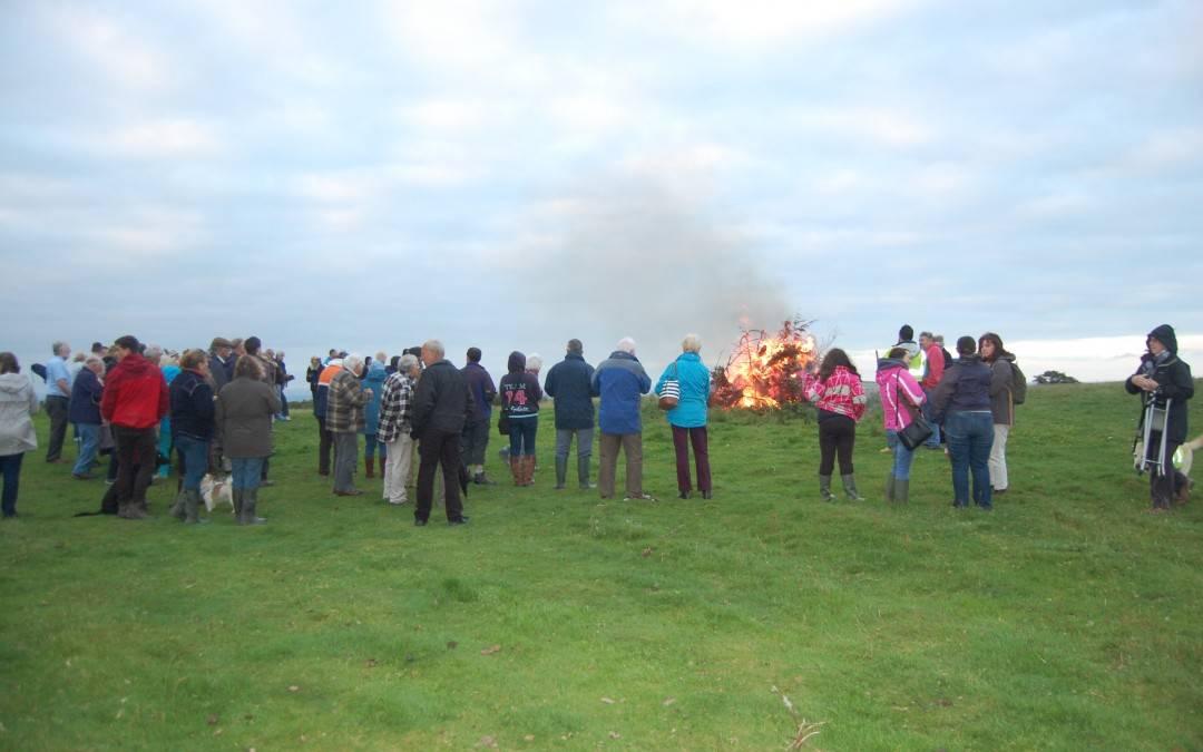 Bonfire Celebrations at Castle an Dinas