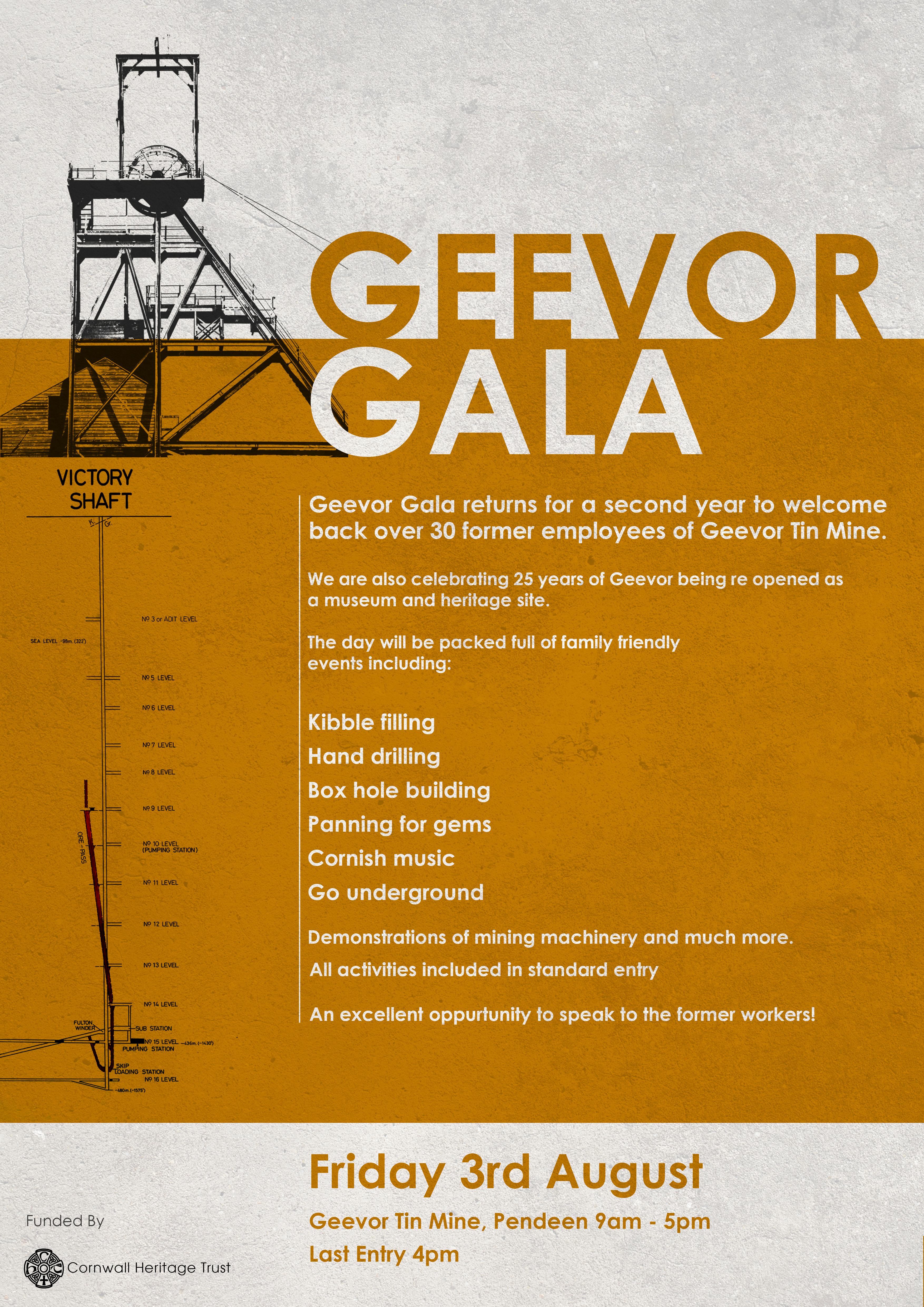Geevor Gala Poster
