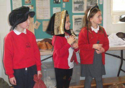 Nanpean School trip to Pendennis Castle