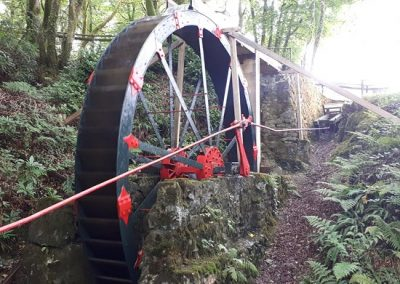 Wheal Martyn Water Wheel Restoration Project