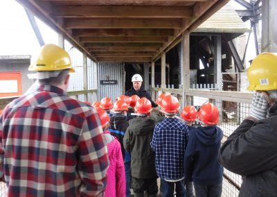 St Mary's School Falmouth visit to Geevor Mine