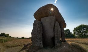 "Trethevy Quoit removed from the ""At Risk Register"""
