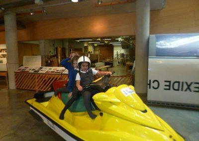 Portreath School visit Maritime Museum
