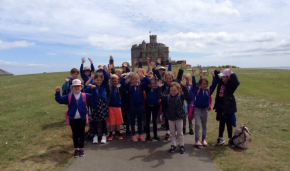 St Columb Major Academy visit to Pendennis Castle