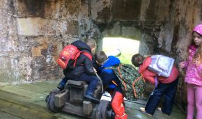St Newlyn East Learning Academy visit St Mawes Castle