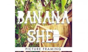 Banana Shed Picture Framing