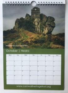CHT Calendar 2021 October