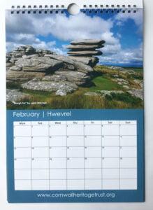 CHT Calendar 2021 February
