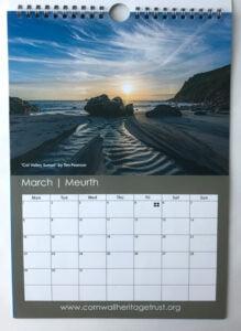 CHT Calendar 2021 March