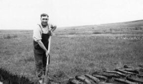Turf cutting for fuel on Bodmin Moor, a virtual Story Cafe
