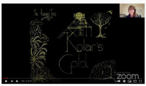 Kolar's Gold virtual Story Cafe with The Rowan Tree recording is now on YouTube