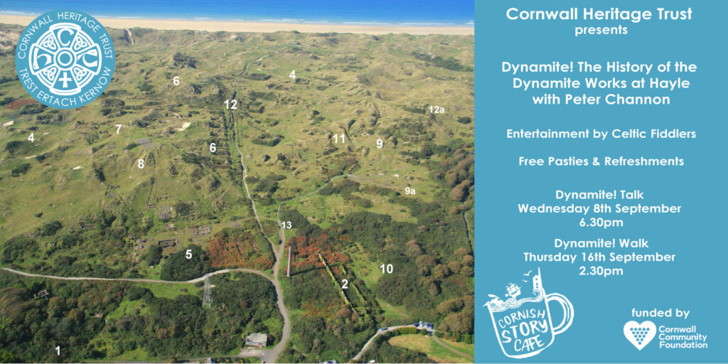 Dynamite!  The History of the Dynamite Works at Hayle, a story cafe by Peter Channon | Cornwall Heritage Trust